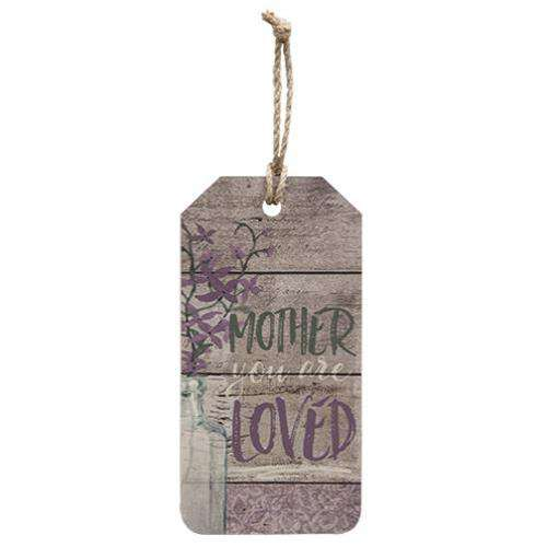 Mother You Are Loved Tag Valentine decore CWI+