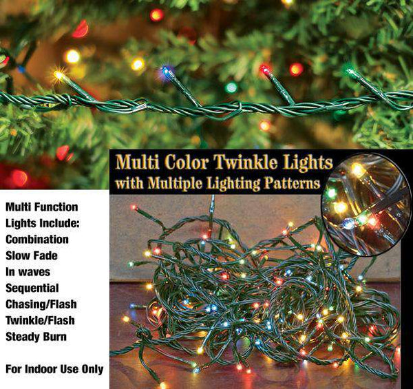 Multicolor Twinkle Lights Light Strands CWI+