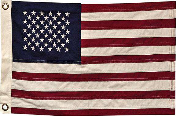 "Natural American Flag, 28"" Flags CWI+"