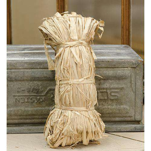 Natural Raffia Bunch, 6 oz Wire & Wood CWI+