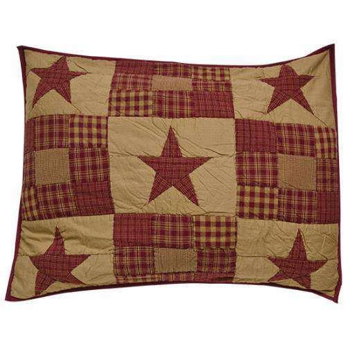 Ninepatch Pillow Sham, 21x27 Bedding CWI+