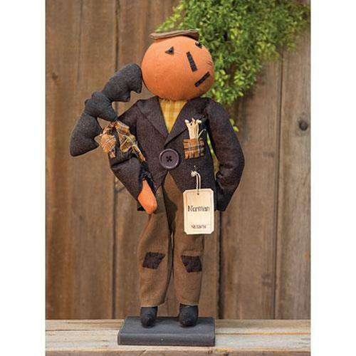 Norman Pumpkin Doll doll CWI Gifts