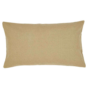 Burlap Natural King Sham 21x37