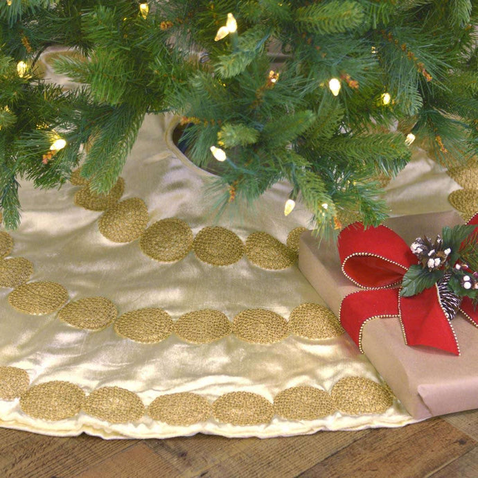 Memories Creme Tree Skirt 48