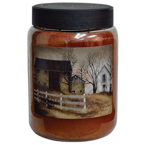 Old Stone Barn Jar Candle, 26oz Fall Candles & Lights CWI+