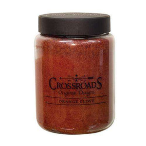 Orange Clove Jar Candle, 26oz Classic Jar Candles CWI+