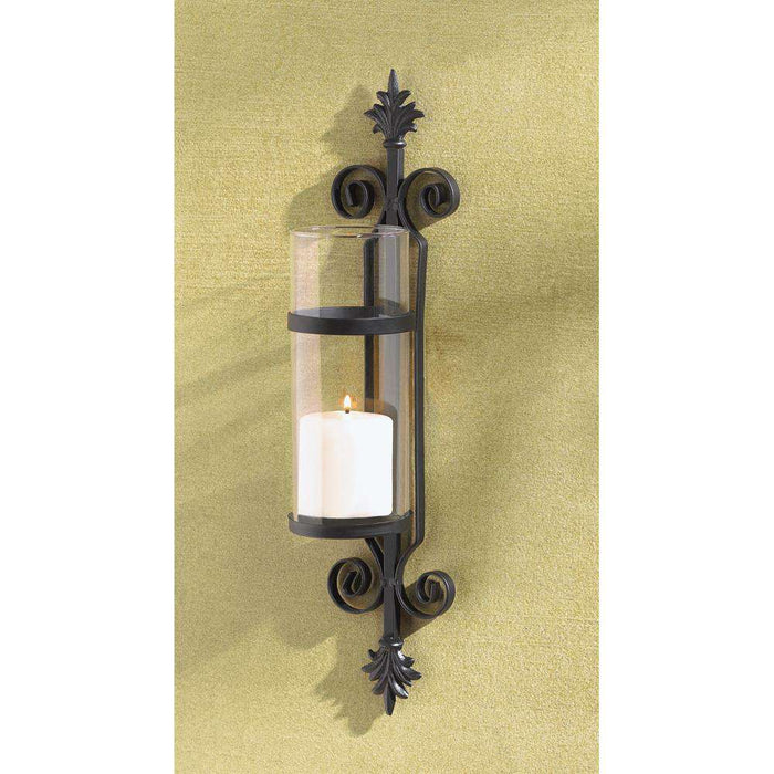 Ornate Scroll Candle Sconce - The Fox Decor