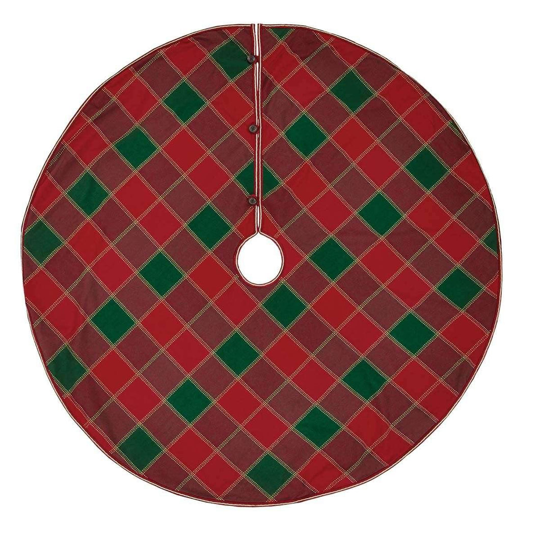 Tristan Christmas Tree Skirt 55 VHC Brands