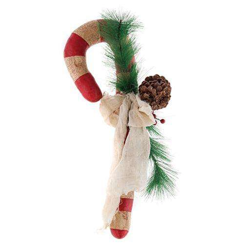 Pinecone Candy Cane Plush CWI+