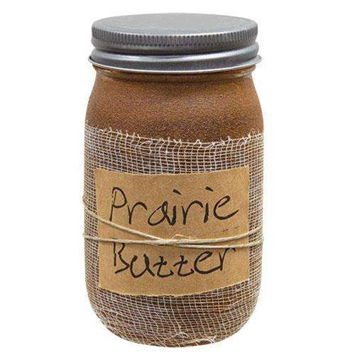 Prairie Butter Jar Candle, 16oz Black Crow Candle Co. CWI+