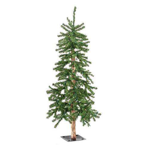 Pre-Lit Alpine Tree, 6ft Alpines CWI Gifts
