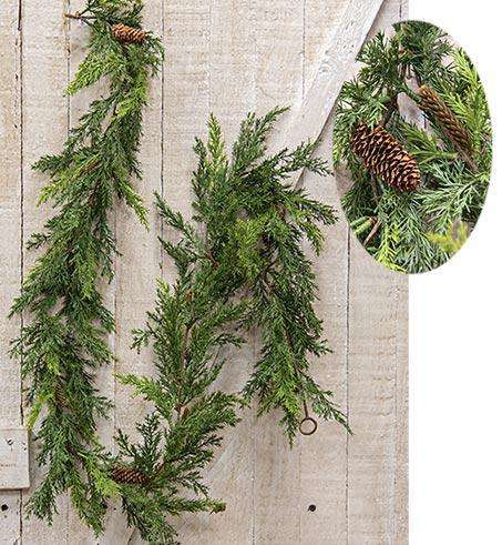 Prickly Pine Garland, Christmas Green Christmas CWI Gifts