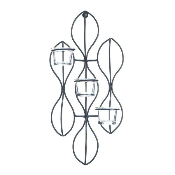 Propel Candle Wall Sconce Cascading Fountains