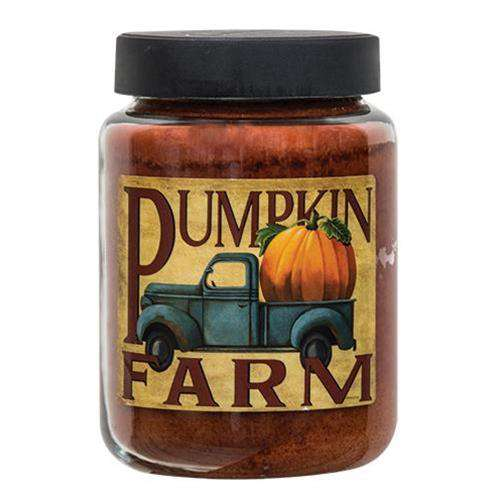 Pumpkin Farm Jar Candle, 26oz Jar Candles CWI+