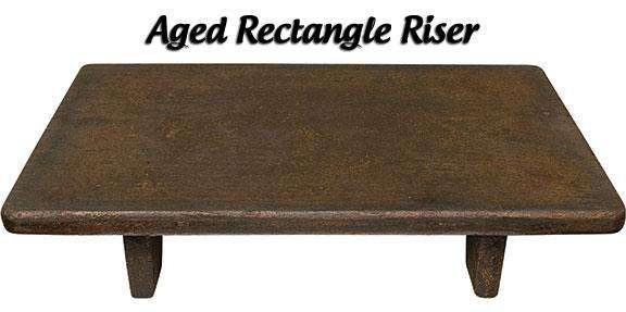 Rectangular Riser Wood CWI+