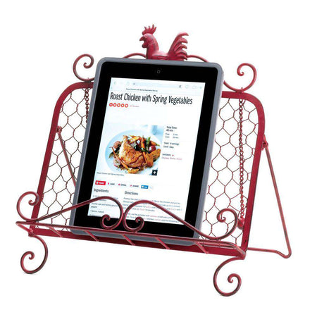 Red Rooster Cookbook Stand Gallery of Light