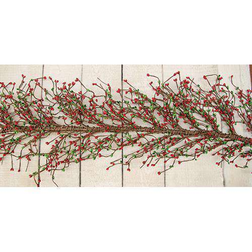 Red/Green Pip Garland, 4 ft. Garlands CWI+