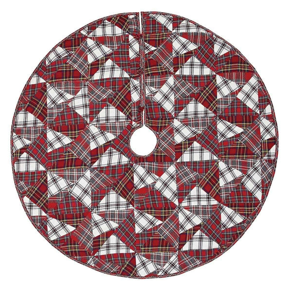 Peyton Christmas Tree Skirt 48 VHC Brands