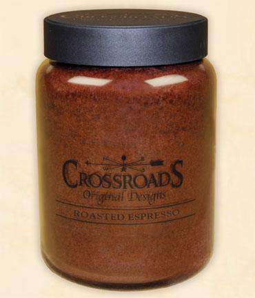 Roasted Espresso Jar Candle, 26oz Classic Jar Candles CWI+
