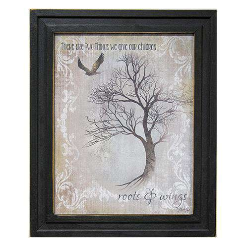 Roots & Wings Framed Print Country Prints CWI+