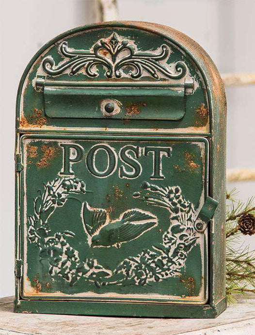 Rounded Bird Post Box Mail and Post Boxes CWI+