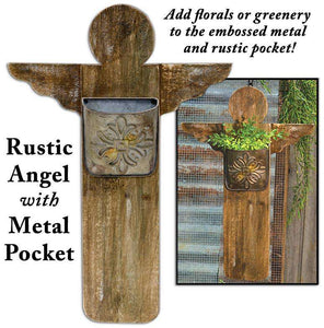 Rustic Angel w/Metal Pocket HS Containers CWI+