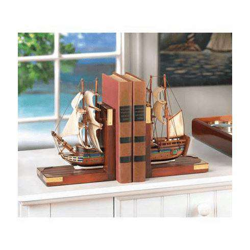 Sailing Schooner Bookends Bookend Koehler Home Décor
