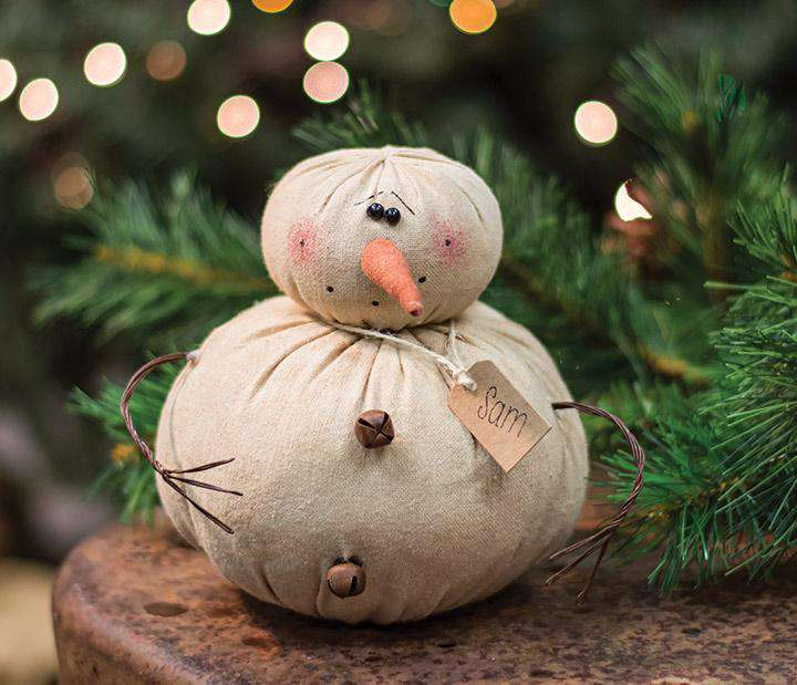 Sam The Snowman Christmas & Winter Dolls CWI+