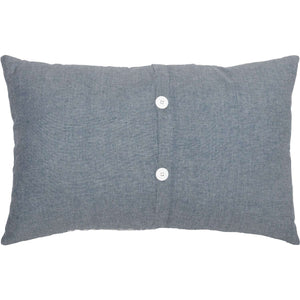 Sawyer Mill Family Pillow Charcoal, Red & Blue Pillows VHC Brands