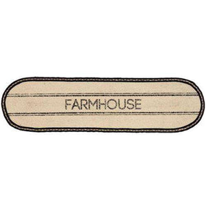 Sawyer Mill Farmhouse Jute Runner, 13x36 Tabletop CWI+