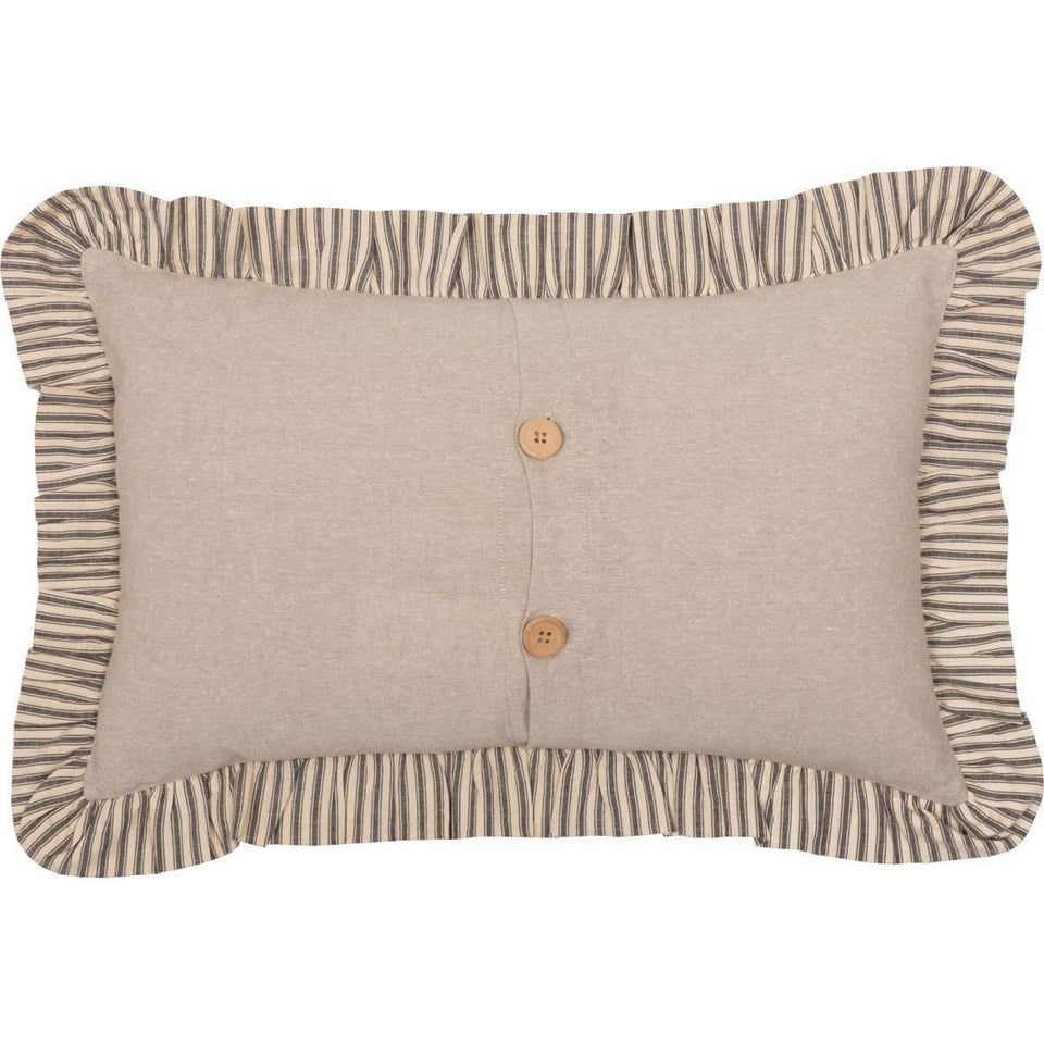 "Sawyer Mill Star Charcoal Star Pillow, 14"" x 22"" General CWI+"