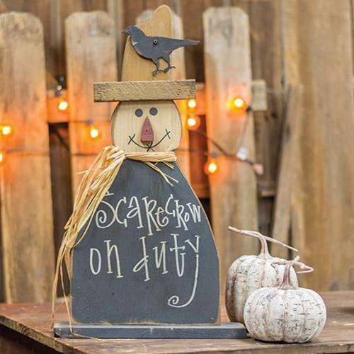 Scarecrow on Duty on Base, 2ft Tabletop & Decor CWI+