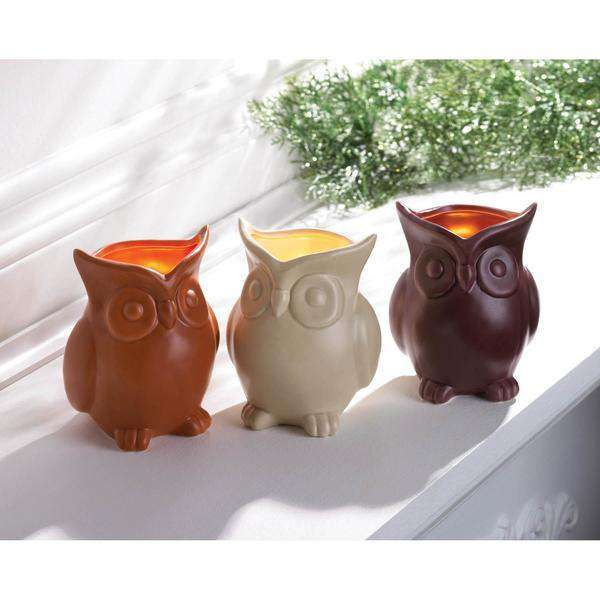 Scented Owl Candles Candles The Fox Decor