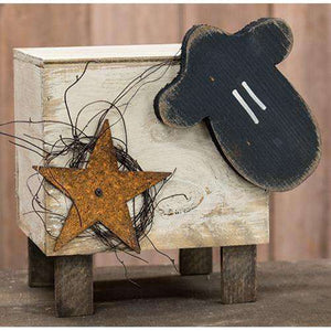 Sheep Box w/Metal Star Small Spring Made USA CWI+