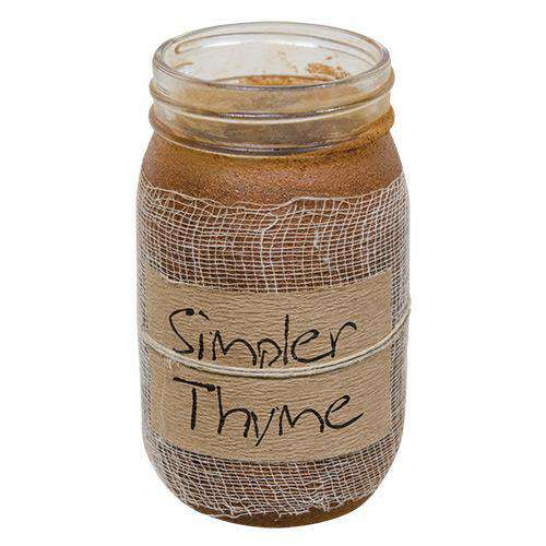 Simpler Thyme Jar Candle, 16oz Jar Candles CWI+