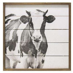 Simply Farmhouse Cow Wall Art Pictures & Signs CWI+