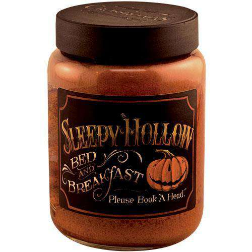 Sleepy Hollow Jar Candle, 26oz Fall Candles & Lights CWI+