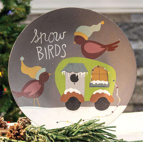 Snow Birds Camper Plate General CWI+