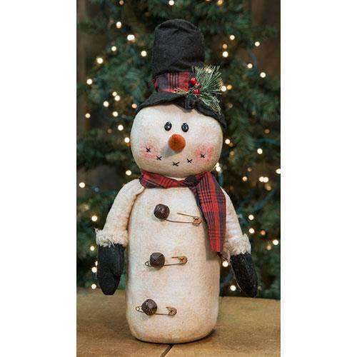 "Snowman w/Mittens, 17"" Tabletop & Decor CWI+"