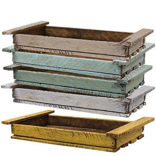 Spring Lath Dough Tray, 5 Asstd. Wood CWI+