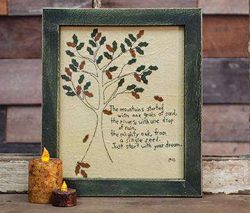 Start with Your Dream Sampler Stitched Samplers CWI+