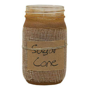 Sugar Cone Jar Candle, 16oz Jar Candles CWI+