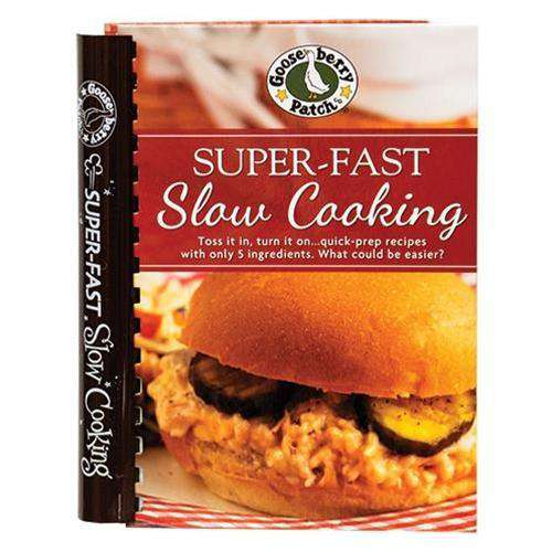 Super-Fast Slow Cooking Cookbooks CWI+