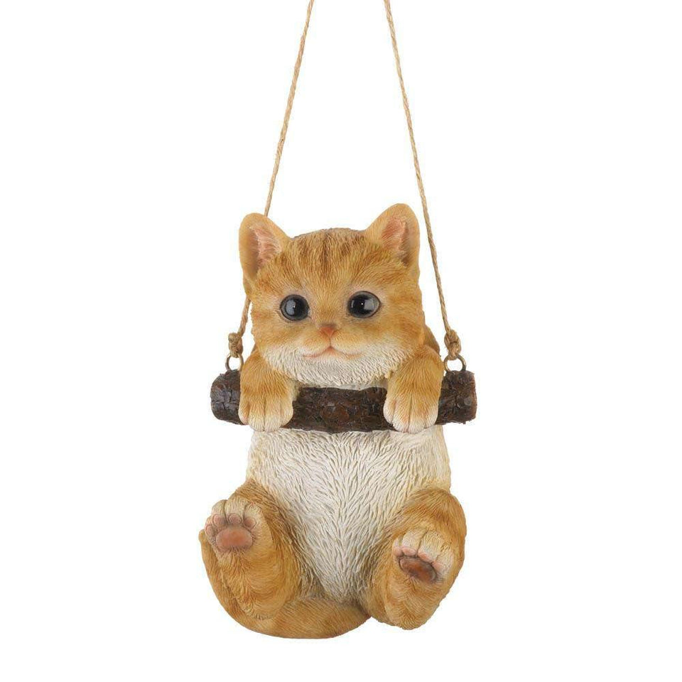 Swinging Kitty Decor