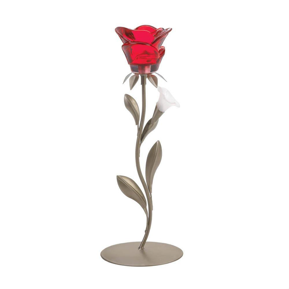 Symbol Of Love Candle Holder