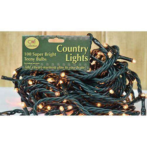 Teeny Lights, Green Cord, 100ct Light Strands CWI+