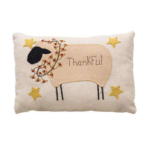 Thankful Sheep Pillow Pillows CWI+
