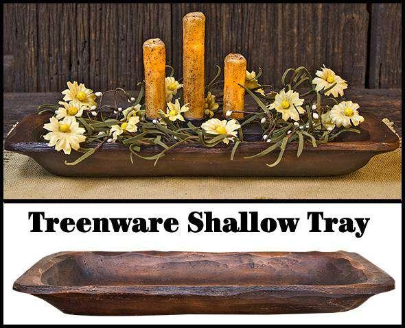 Treenware Shallow Tray w/Handles Treenware CWI+