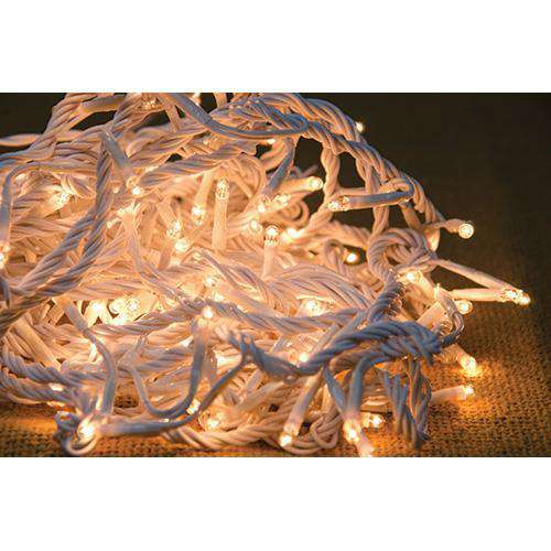 Twinkle Lights, White Cord, 140 ct Light Strands CWI+