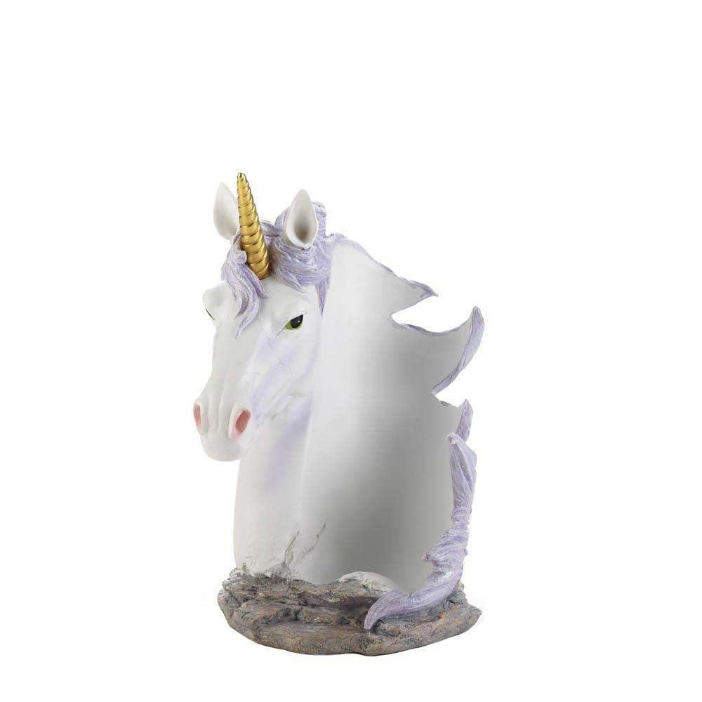 Unicorn Mane Wrapped Wine Bottle Holder